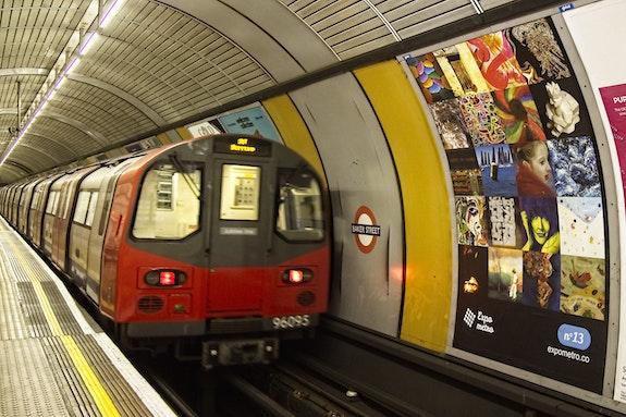 Poster n°13 Baker Street - Art Photography - Expo Metro London 2019.  Artquid Team