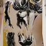 Cheval, peinture à l'huile. Johanna Alexandre