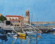 Le port de Collioure..
