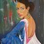 Bailarina Andaluza. Florence Noguera