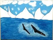 Série antarctique (Les Baleines).
