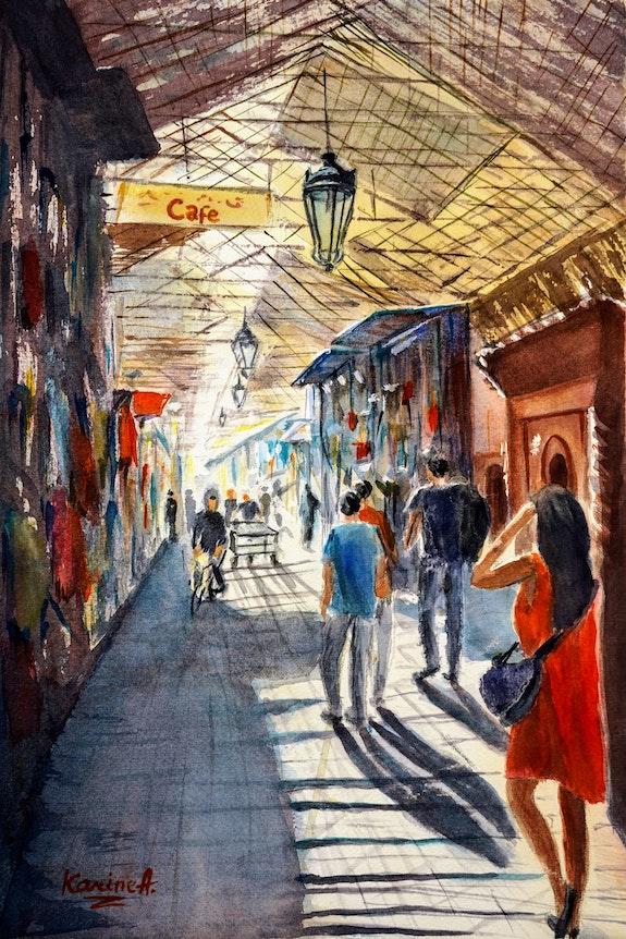 Marrakesh Market - 1. Karine Andriasyan Karine Andriasyan