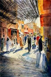 Marrakesh Market - 2.