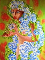 Lady with camelies. Tatyana Shvartsakh