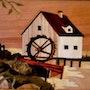 Le moulin à eau. Martine Perry