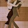 Les danseurs de tango II. Martine Perry