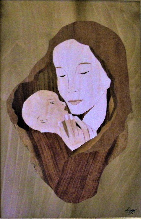 La nativité. Martine Perry Martine Perry