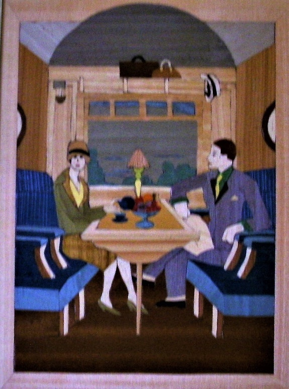 Voyage en train : l'Orient-express. Martine Perry Martine Perry