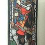 Le roi Robert le Bruce d'Écosse, entièrement doublé medievale. Pino Didier