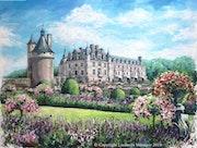 «Château de Chenonceau». Liudmila Ménager