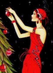 Tout de rouge vêtue. Marie Carteron