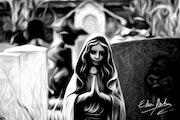 Mystic prayer. Eden Dark