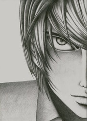 Yaganu Light - Kira Deathnote Anime. Denisa Tisescu