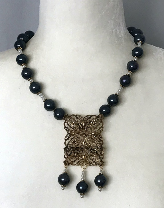 Vintage Collection Necklace. Marica Cullingham Emcee Jewelry