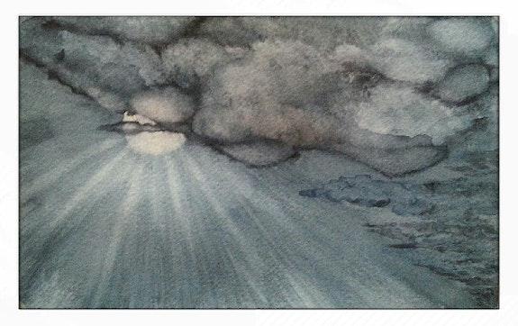 1Er janvier 2020 le soleil va chasser les nuages. Jean-Michel Legras Jeanmidijeanmi
