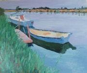 La Barque Bleue. Jean François Malet
