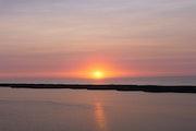 Premier lever de soleil.