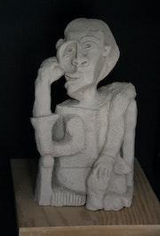 Le marin d'après Pablo Picasso. Catherine Lccat