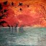 Le dernier coucher du soleil. José Sousa