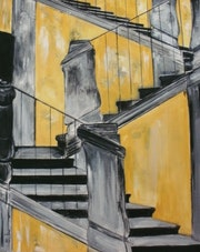 Old stairs. Edmonda Berdilla