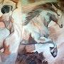 Danse avec le cheval. Lacharielle