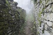 Mur de pierres.