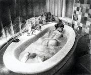 Le bain - Bathtime. Peter Soyman