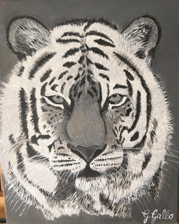 Le tigre. G. Gallo Georgette Gallo