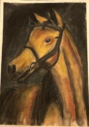 Golden horse. Nika Pavliv