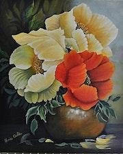 Bouquet de pavots.