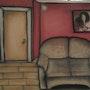 Un salon et son petit divan. Evelyne Patricia Lokrou