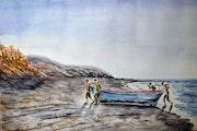 Moroccan Fishermen.