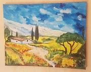 Le chant des cigales de Provence.