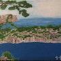 Le Cap Canaille de Cassis vue de la Calanques de Sormiou. Georgette Gallo
