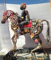 A Horse. Mokhtar Ghailan