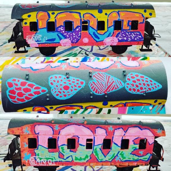 Love train. Sano Arnaud Sanchez