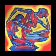Gemälde «connected». Exklusive-Art