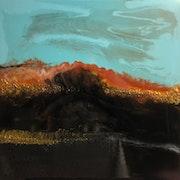 Painting surf - (#Resin-Art). Exklusive-Art