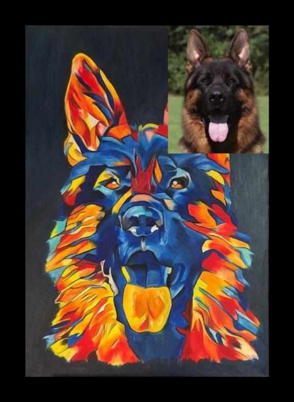 I paint your animal. Exklusive-Art