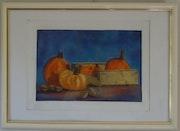 Récolte d'automne au pastel. Jocelyne Morisson