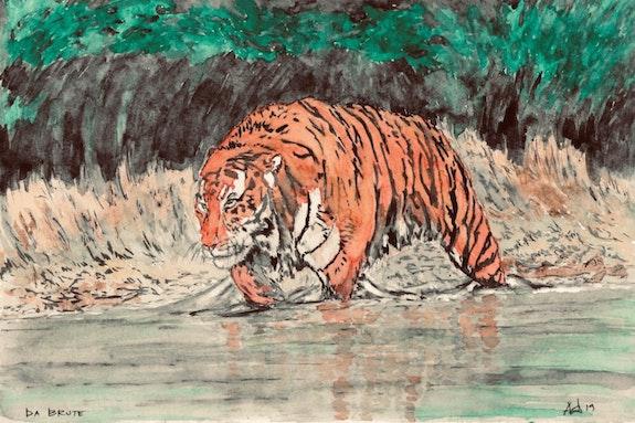 Da Brute - Big Tiger on the Prowl. Gerard Dourado Jabbyd