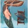 De la serie : Mares, «Azul convergente ». Nelson Madero