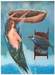 De la serie : Mares, «Azul convergente ».