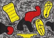 Fragment poétique d'un quidam schizoïde interné depuis peu 4291.. Dominique Cauvé