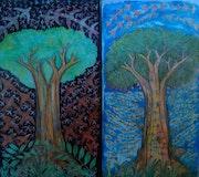 Alam terkembang. Serie. Lash Art Studio