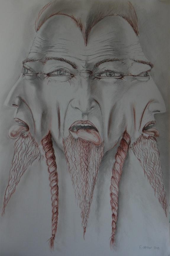3 Faces de la folie. Frédéric Caton Frédéric Caton