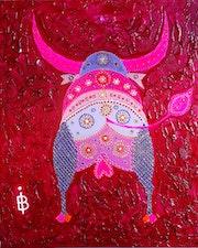 » Pink Bull ». Bruno Imart
