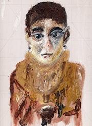 Portrait du Fayoum. Denise Doderisse