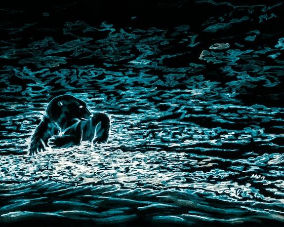 The Black Polar Bear. Gerard Dourado Jabbyd