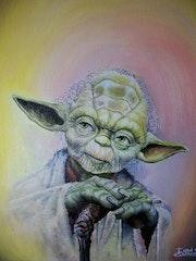 Yoda peronaje de la saga star wars.